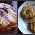 Grilled Swordfish Steaks with Pineapple Mustard Glaze