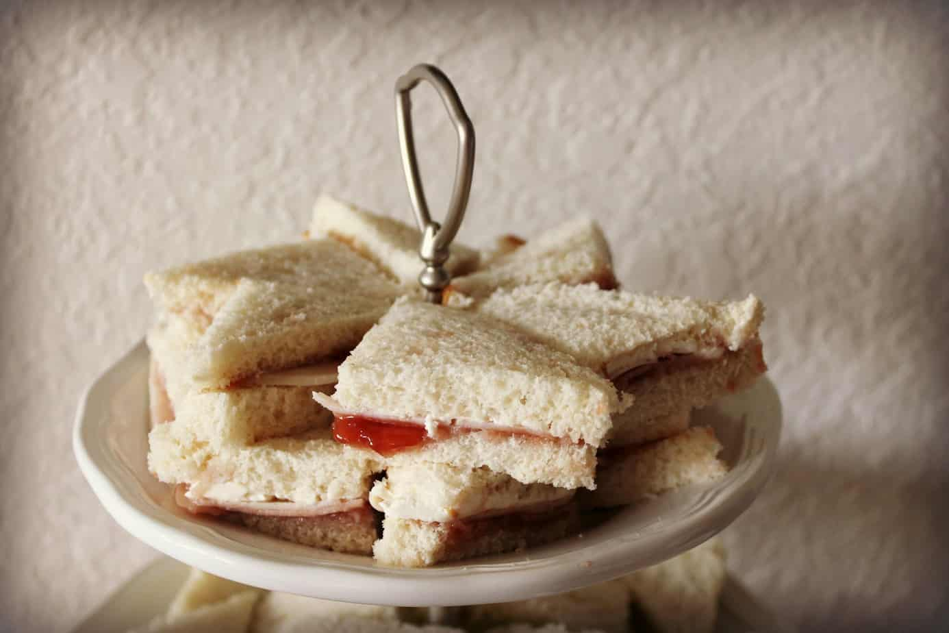 Bocaditos {Tea Sandwiches} - The Kitchen Prep Blog