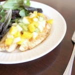 Tandoori Marinated Tilapia with Mango Salsa