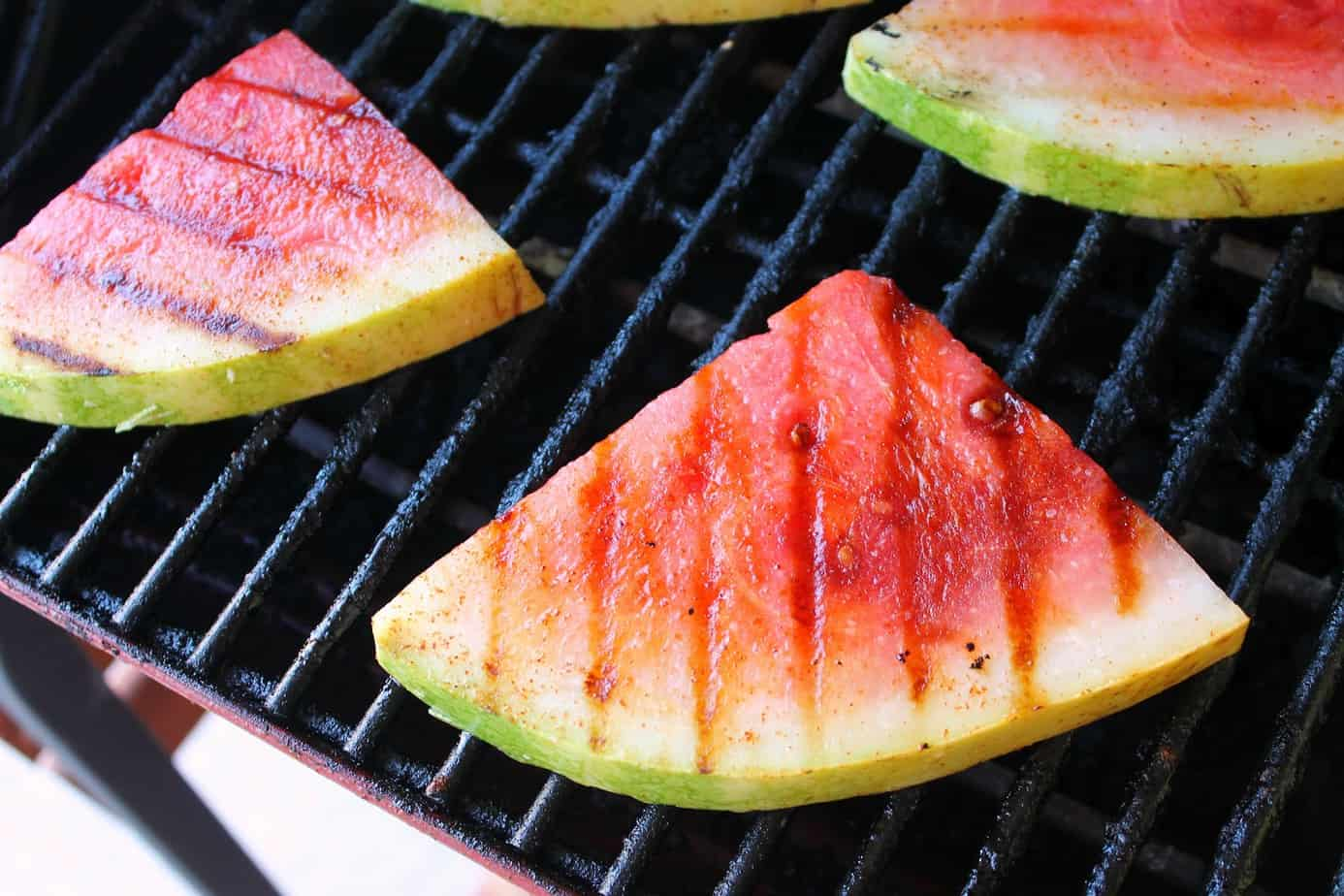 Grilled Watermelon Salsa with Spicy Lime Tortilla Chips ...