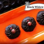 Willow Bird Baking Challenge #3: Black Widow Bite Cookies