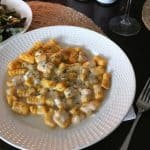 Butternut Squash Gnocchi with Bourbon Cream Sauce