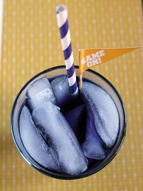 The purple tiger cocktail is the perfect way to cheer on LSU