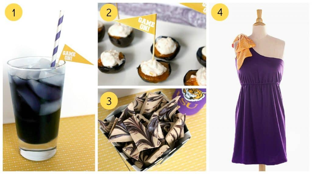 all the things you need to through a perfect LSU tailgate party recipe