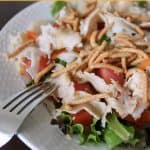 Asian Chicken Salad with Ginger-Sesame Dressing