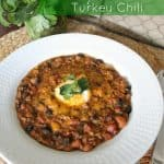 Hearty Turkey Chili {and All About Farley}
