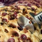 Roasted Grape, Onion & Rosemary Focaccia