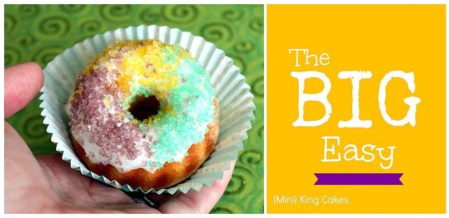 King Cake Collage