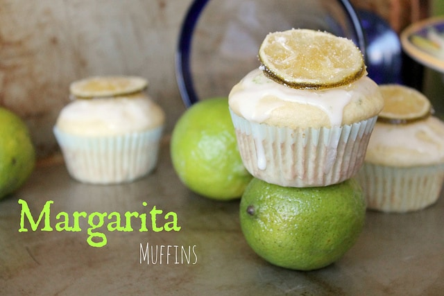 These sweet lime cupcakes taste just like a fresh, icy margarita