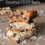 Coconut Dream Bars