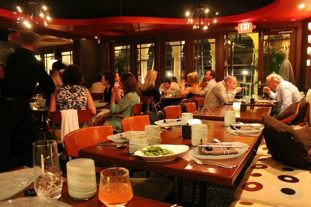 Echo Restaurant in Palm Beach, Florida.
