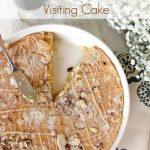 Swedish Visiting Cake with Whisky Glaze