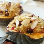 Acorn Squash Stuffed with Spiced Quinoa