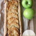 Easy Apple-Cheddar Galette