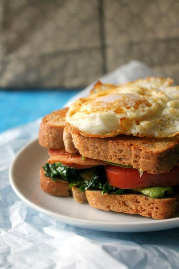 make this bacon, kale, tomato, and avocado sandwich for a hearty, satisfying weekend brunch