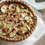 #BrunchWeek: Bacon, Cheddar, Zucchini Quiche