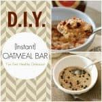 DIY Instant Oatmeal Bar