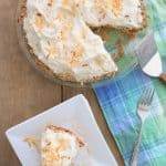 Ice Cream Social: Coconut Macaroon Ice Cream Pie | Ruffles & Truffles