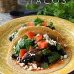 Easy Balsamic Portobello Tacos