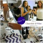 How to Host a Chocolate & Wine Pairing Party | Lindt Chocolate + J. Lohr Wines