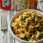 Gluten Free Spinach and Chicken Sausage Mac & Cheese | Horizon Organic