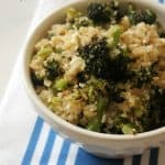 Roasted Broccoli & Feta Quinoa