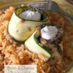 Bean & Cheese Zucchini Rolls {a.k.a. Zucchitos}