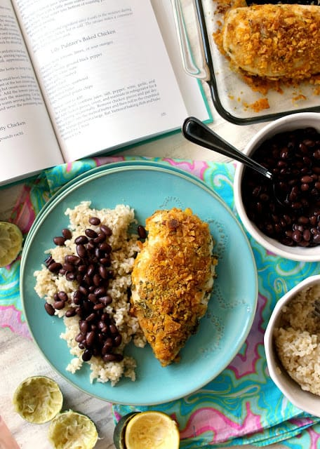 This baked chicken recipe is inspired by the Palm Beach queen herself, Lilly Pulitzer