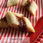 Caramel-Nog Split Second Cookies | Silk Holiday Nogs
