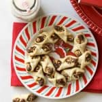 Hazelnut Bow Tie Cookies | The Great Food Blogger Cookie Swap