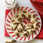 Hazelnut Bow Tie Cookies