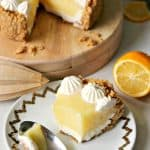 Meyer Lemon & Yogurt Cream Pie