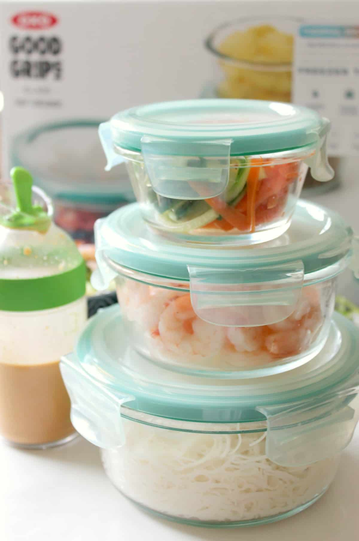 OXO Glass SNAP Containers