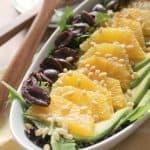 Orange-Avocado Salad with Honey Vinaigrette