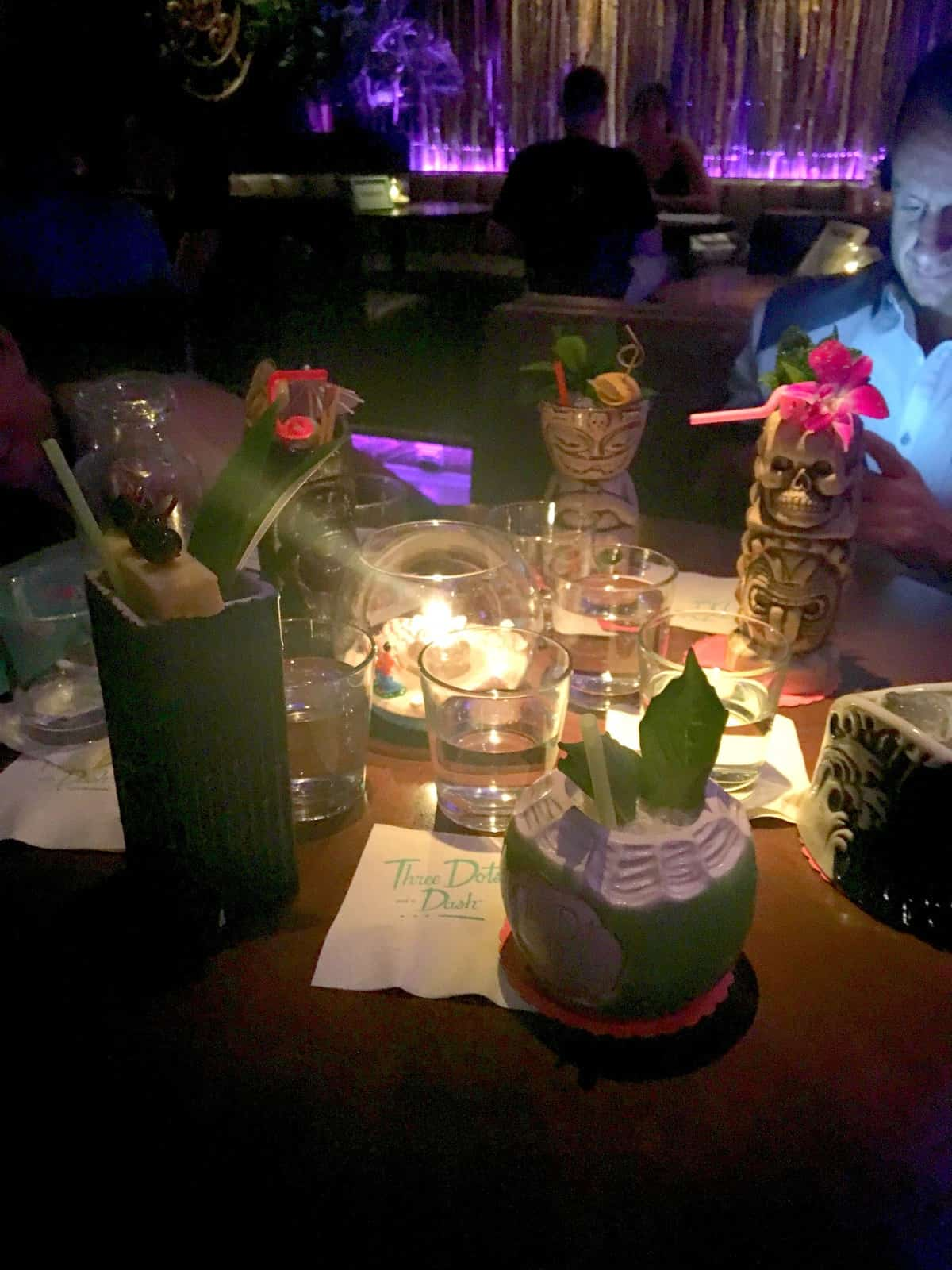 Our Tiki Bar drinks in Chicago