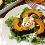Maple-Roasted Acorn Squash & Ricotta Salad