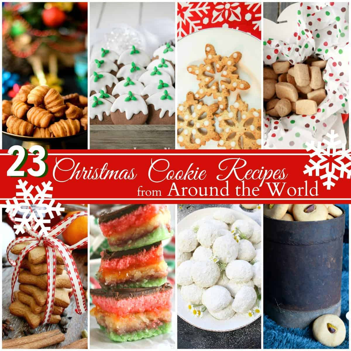Christmas Cookies From Around The World With Pictures.Christmas Cookie Recipes From Around The World