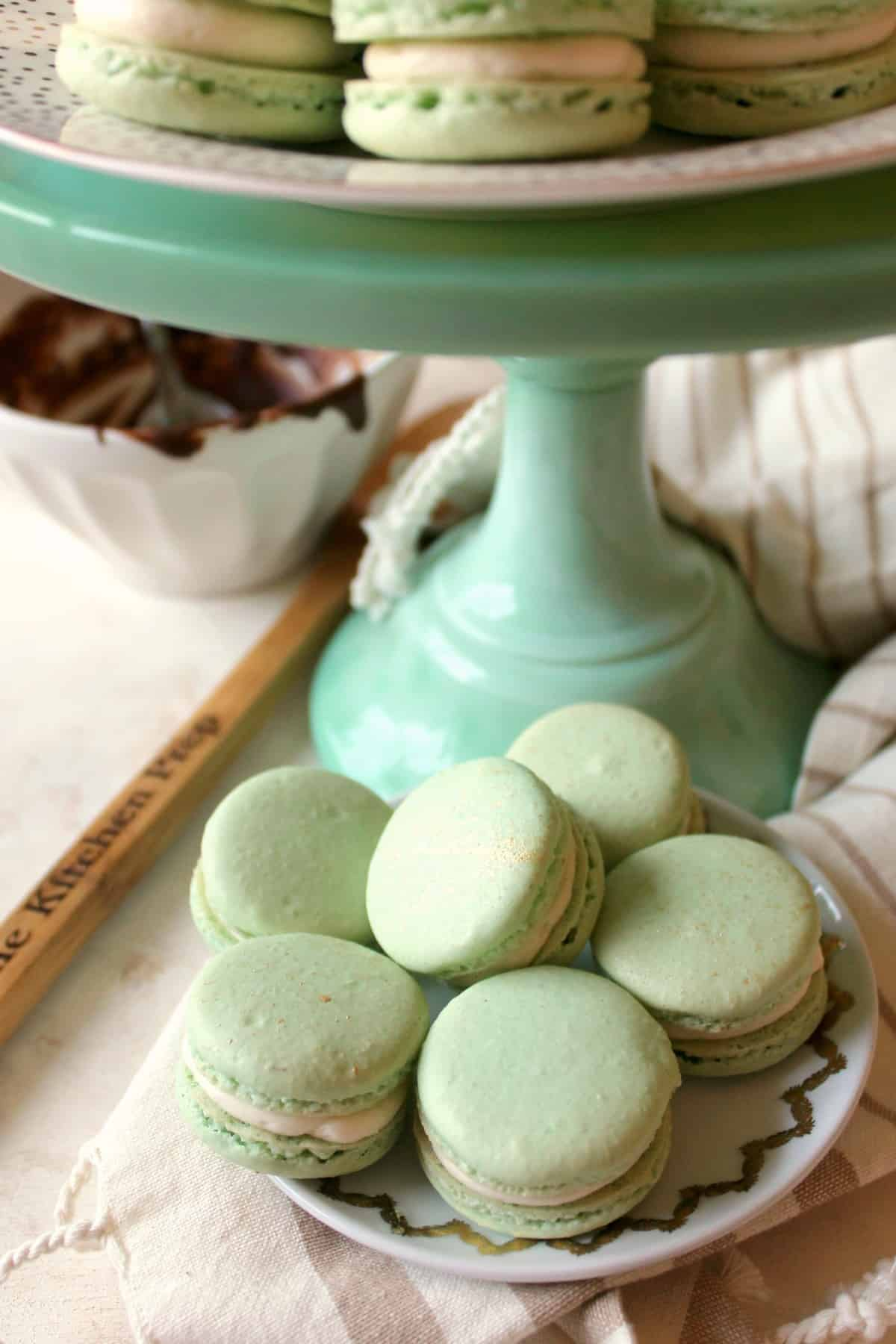 This fool-proof Irish Cream French Macarons recipe is perfect for a party snack