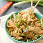Almond Butter Noodle Stir Fry