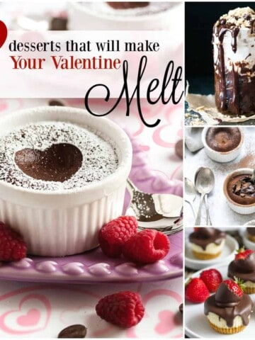 23 Desserts That Will Make Your Valentine Melt. From gooey molten lava cakes to decadent brownies, there's something melty for every sweetheart!