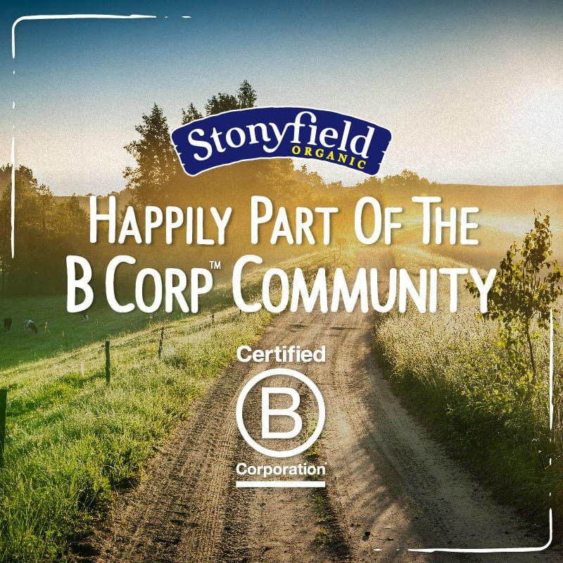 Stonyfield B Corp Certified