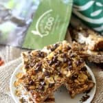 """Monkey Bars"" (Banana Peanut Butter Chocolate Chip Granola Bars)"