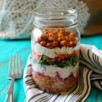 Savory Yogurt Parfaits