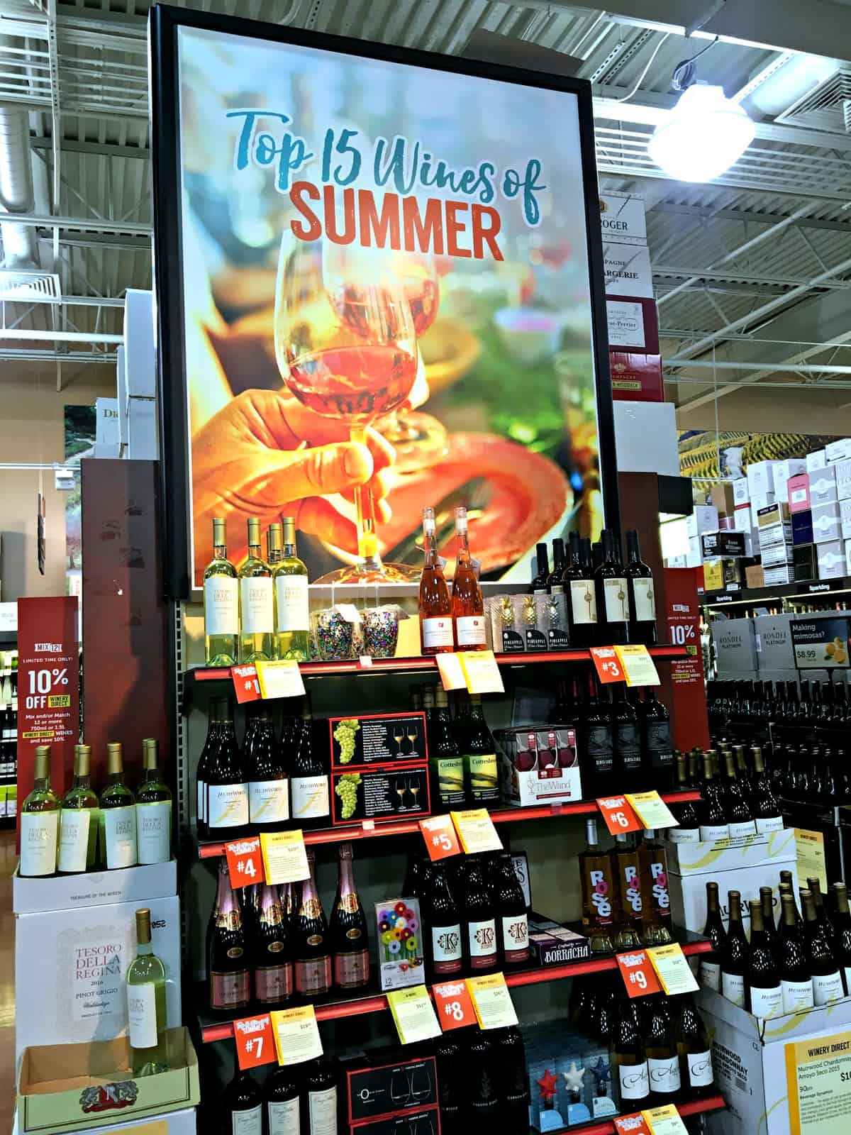 Pick up the best wines of summer at Total Wine