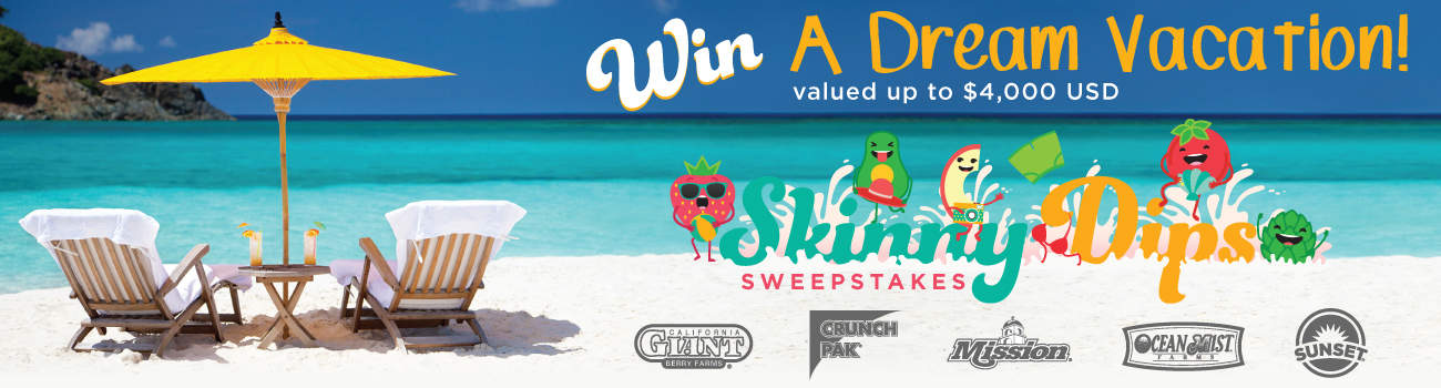 Cal Giant Skinny Dips Sweepstakes