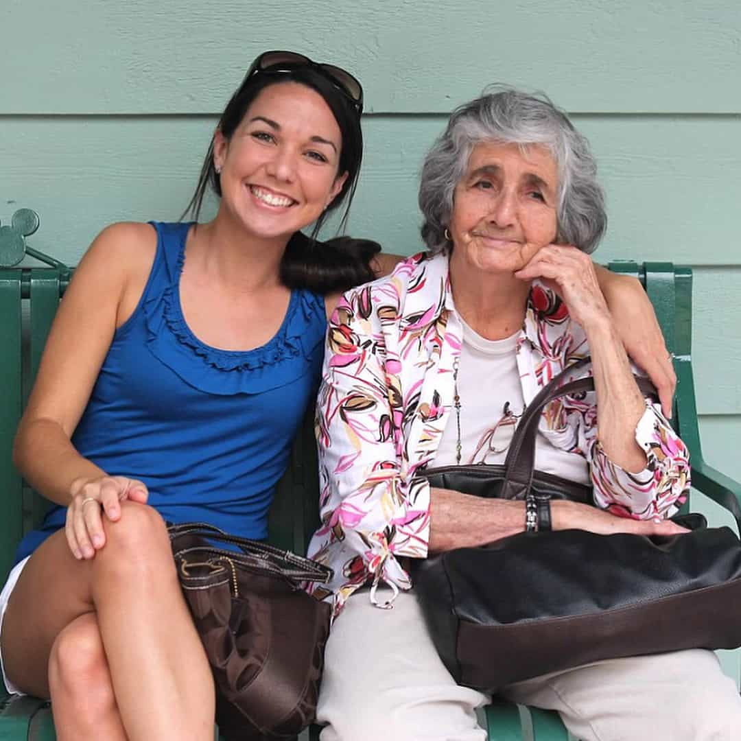 Dianna and her grandmother