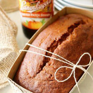 Pumpkin Spice Beer Bread