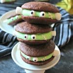 Frankenstein Chocolate Whoopie Pies
