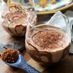 Mexican Chocolate Yogurt Mousse Cups