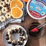 Chocolate-Orange Yogurt Spritz Cookies